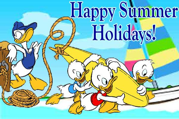 Happy Summer Holidays 2015