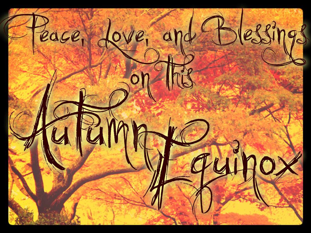 Afbeeldingsresultaat voor autumnal equinox