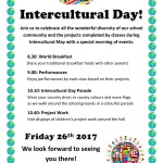 Intercultural Day Poster for Parents