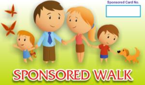 sponsored walk
