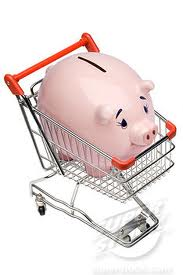 Piggy Bank in trolly