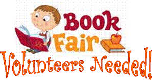 Volunteers for book fair