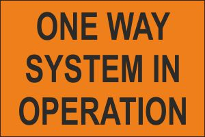 TRM039-One-way-system-in-operation