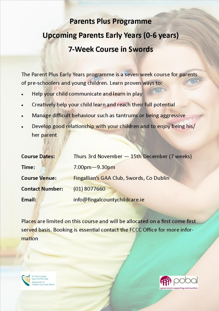 Final Parent Course on3rd November 2016