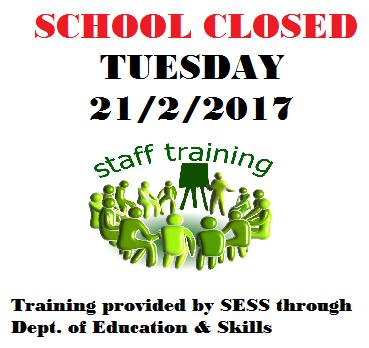 school closed 21feb17